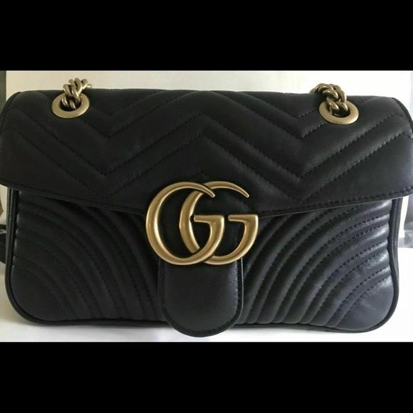 b05b5ea5bd9 Gucci Handbags - Gucci GG Marmont Matelasse Shoulder Bag small mini